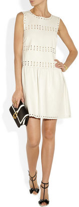 RED Valentino Cutout leather dress