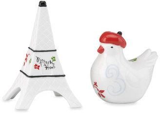 Lenox 12 Days of Christmas French Hen Salt & Pepper Shakers
