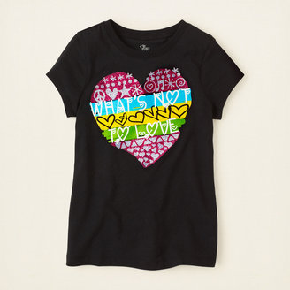 Children's Place Not to love graphic tee