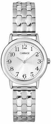 Women's Carriage by Timex Expansion Band Watch - Silver C3C744TG $22.99 thestylecure.com