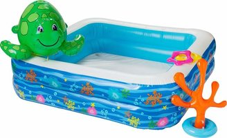 Pool' Chad Valley Pool Set with Spray Turtle