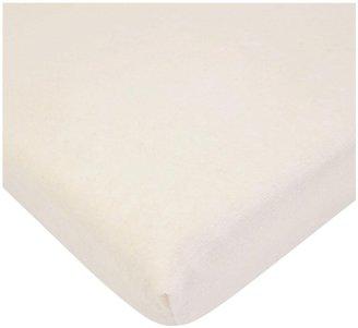 American Baby Company ABC Organic Cotton Natural Velour Mini Crib Sheet