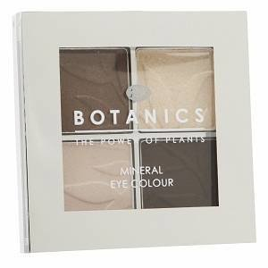 Boots Eye Shadow Quad, Golden Brown