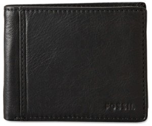 Fossil Ingram Bifold with Flip Id Leather Wallet