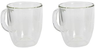 Bodum Jumbo mug, double wall, 0.45 l, 15 oz (Transparent) - Home