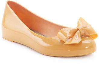 MEL Shoes, Tangerine Jelly Flats