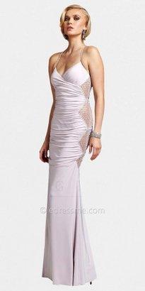 Mignon Sexy Diamond Side Evening Dresses