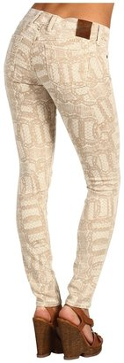 Lucky Brand Legend Lace Print Charlie Skinny (Lace Printed) - Apparel