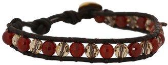 Chan Luu 6 Carnelian/Light Colorado Bracelet (Carnelian/Light Colorado) - Jewelry