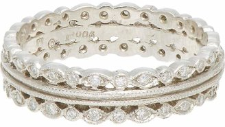 Cathy Waterman Women's Triple-Band Ring