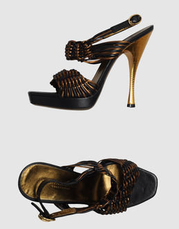 Donna Karan Platform sandals