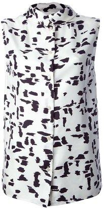 Chloé sleeveless patterned blouse