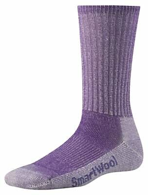 Smartwool Hiking Light Crew Unisex Socks, Grape