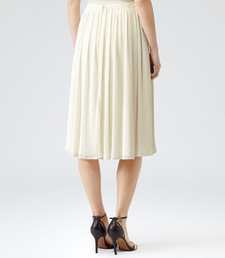 Helena MICRO PLEAT MIDI SKIRT