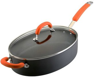 Rachael Ray 5-qt. Nonstick Hard-Anodized Oval Saute Pan