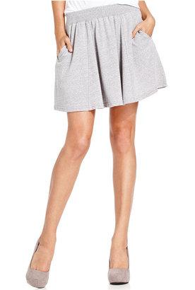 Monroe Marilyn Juniors Skirt, A-Line Sweat Skirt
