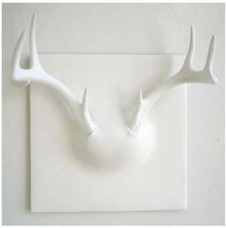 Erich Ginder Ghost Antler Coat Rack In White