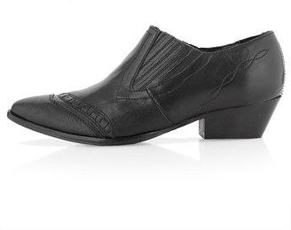Topshop KASPIAN Detail Western Boots