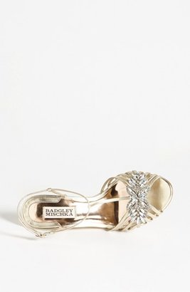 Badgley Mischka 'Naomi' Wedge Sandal