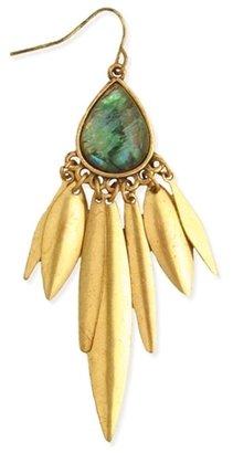 Z Designs Teardrop Dangle Earrings