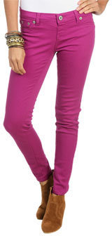 Wet Seal WetSeal Pull On Color Jegging Hollyhock