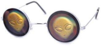 Vintage Sunglasses Smash KOOKS 3D Hologram Sunglasses W/ Alien Lens