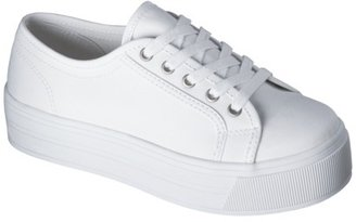 Xhilaration Women's Saraphina Platform Sneaker - White