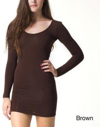 American Apparel Women's Jersey Long Sleeve Mini Dress $29.49 thestylecure.com