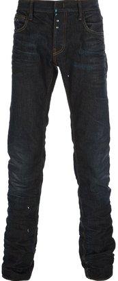 Emporio Armani faded skinny jean