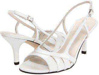 Stuart Weitzman & Evening Collection - Mischievous (White Patent) - Footwear