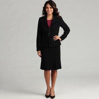 Tahari Women's Crepe 5-button Skirt Suit $47.99 thestylecure.com