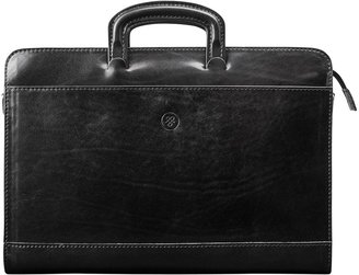Maxwell Scott Bags Men S Crafted Black Italian Leather Document Case