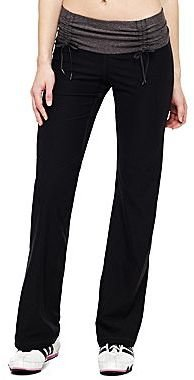JCPenney XersionTM Ruched-Waist Workout Pants