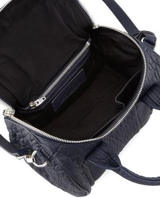 Alexander Wang Rockie Small Crossbody Satchel Bag, Ink