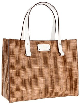 Kate Spade Pack A Picnic Grayce (Natural/Fresh White) - Bags and Luggage