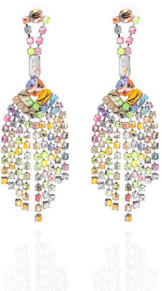 Tom Binns A Riot (Of Colour) Tassel Earrings