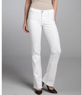 James Jeans luna white stretch denim 'reboot' bootcut jeans