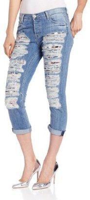 Hudson Jeans Women's Dax Crop Boyfriend Jean