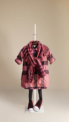 Burberry Cotton Blend Shirt Dress
