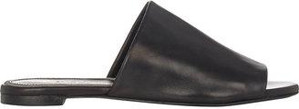 Robert Clergerie Women's Gato Slides-BLACK $395 thestylecure.com
