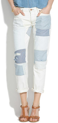NSF Beck Patched Boyfriend Jeans