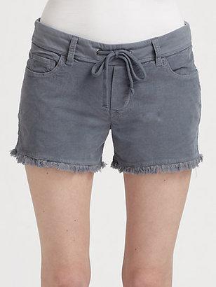 James Perse Cut-Off Corduroy Shorts