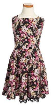 MISS BEHAVE 'Marilyn' Dress (Big Girls)