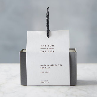 The Soil & The Sea Matcha Sea Salt Soap