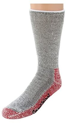 Smartwool Mountaineering Extra Heavy Crew (Charcoal Heather) Crew Cut Socks Shoes