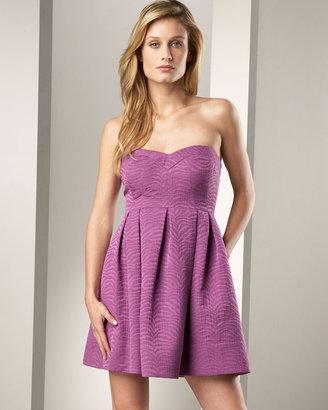 Rebecca Taylor Zebra-Print Dress