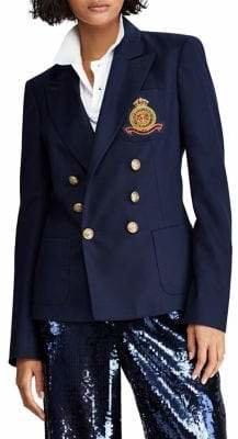 Polo Ralph Lauren Crest Wool Blazer