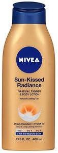 Nivea Sun Kissed Radiance Gradual Tanner & Body Lotion, Fair to Medium