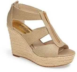 Women's Michael Michael Kors 'Damita' Wedge Sandal $98.95 thestylecure.com