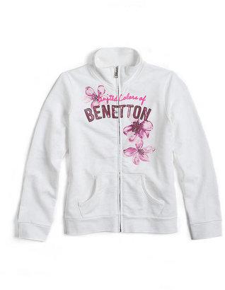 Benetton Tweens 7-16 Printed Zip-Up Jacket